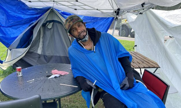 Encampment residents refuse to leave Moss Park as they wait for the city to move in