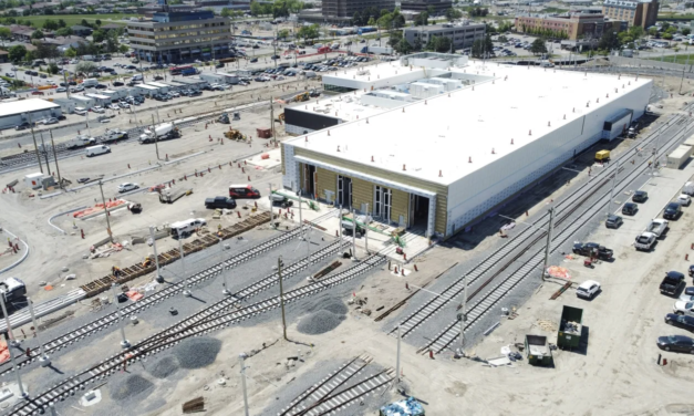 The Finch West LRT Maintenance Storage and Facility set for completion this year