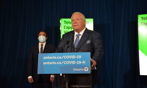 Restaurants, gyms left out until next phase of reopening as Ford announces new vaccine verification app