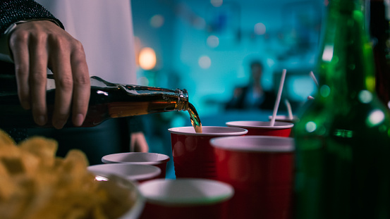 Stress of post-secondary school and peer pressure can lead to alcohol misuse